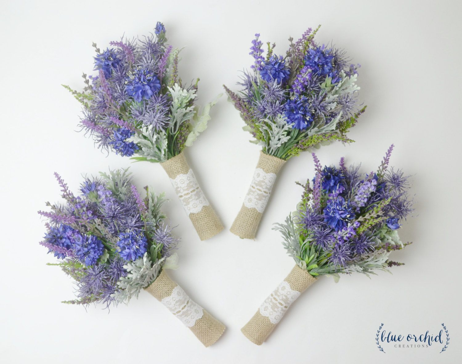 Wildflower Bridesmaid Bouquets Lavender Bouquets Bridesmaid Etsy Small Bouquet Woodland Wedding Bouquet Small Bridal Bouquets