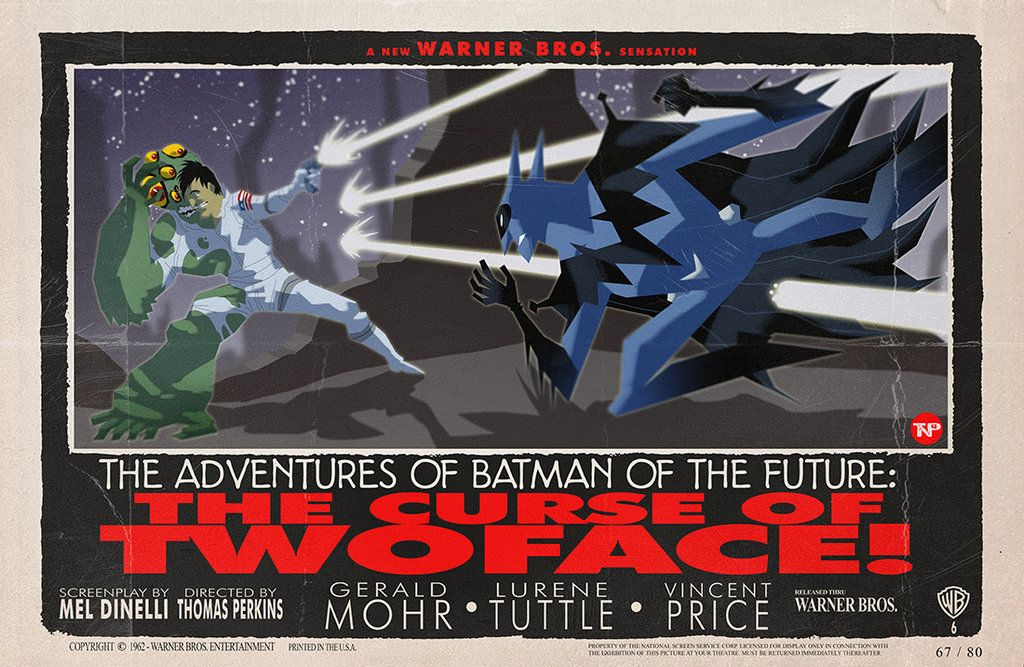 Batman of The Future and The Curse of Twoface! by tnperkins.deviantart.com on @deviantART