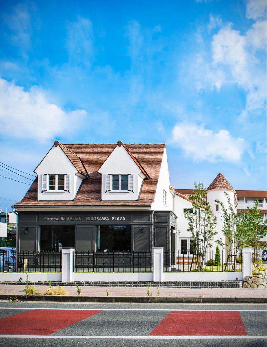 外観 フランスのプロヴァンスがモチーフの海外デザイン住宅 輸入住宅 ホームウェア 施工
