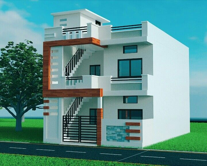 Home house front design modern indian plans small also elevation bedroomcolourdesignphotos rh pinterest