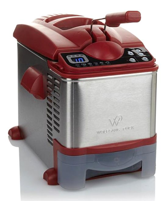 Red Wolfgang Puck 3.7-Qt. Digital SS Deep Fryer | Products ...