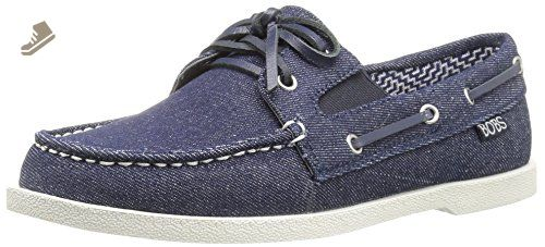 Skechers Bobs From Women's Chill Luxe-Above Deck Flat, Dark/Denim, 10 M US