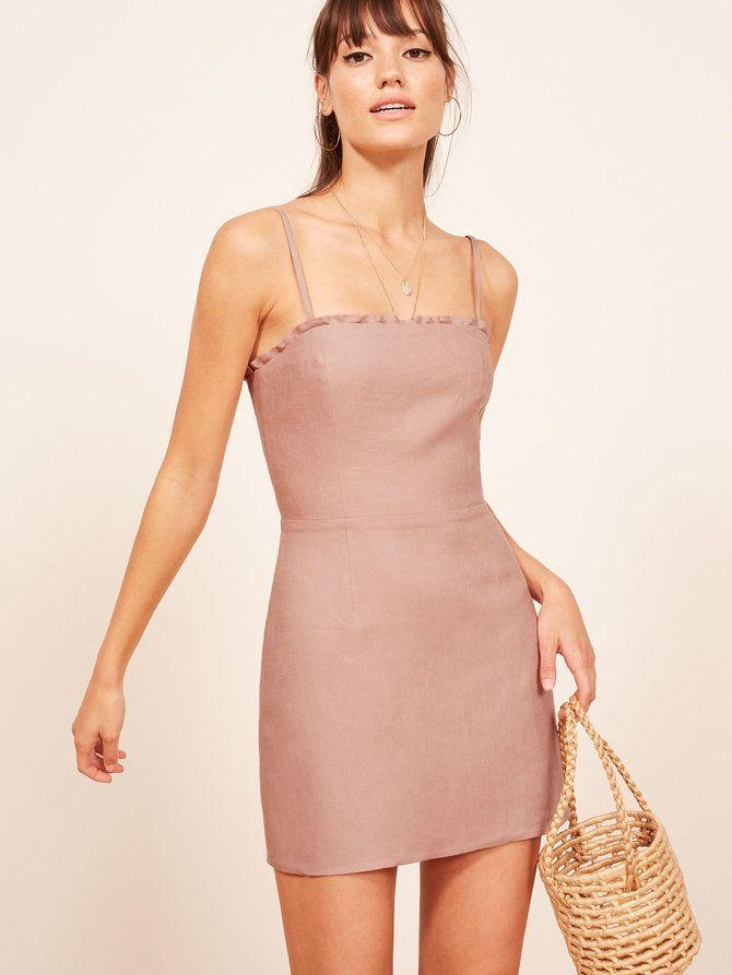 62fc1da4acd Ava pink mini dress Reformation