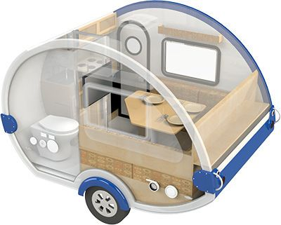 tab s max package teardrop campertrailer little guy - Small Camper Trailer