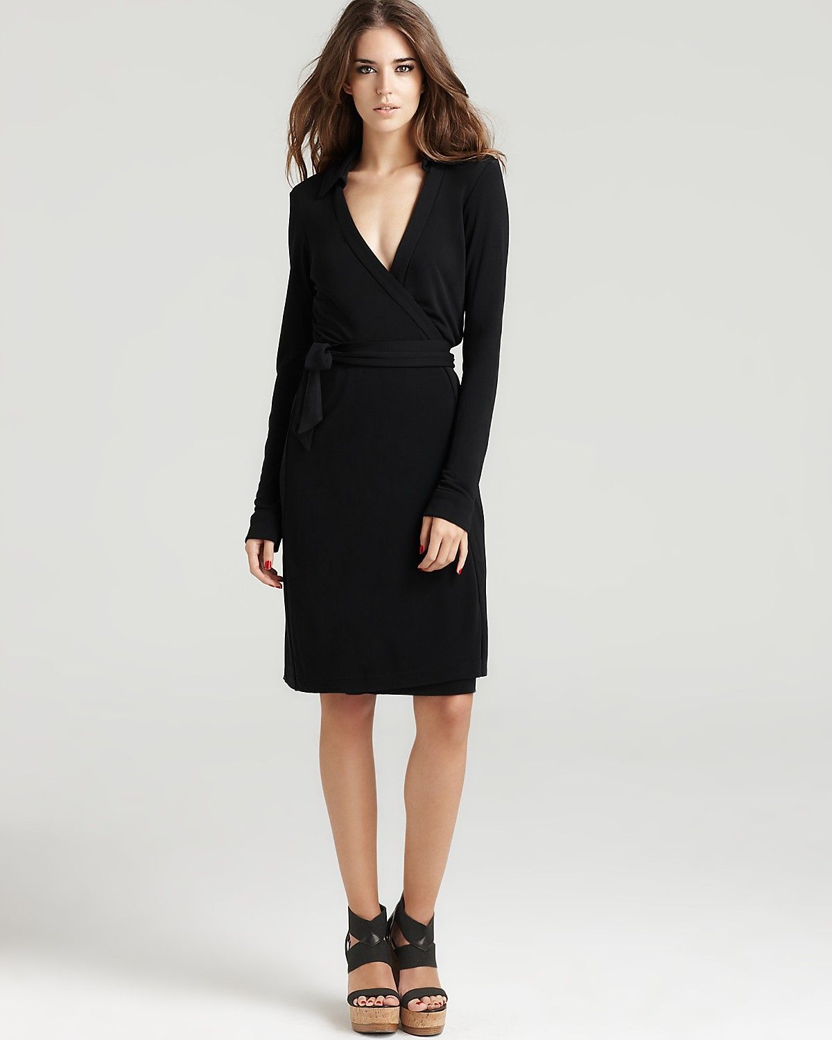 Diane von Furstenberg (DVF) wrap dress for Friday's business ...