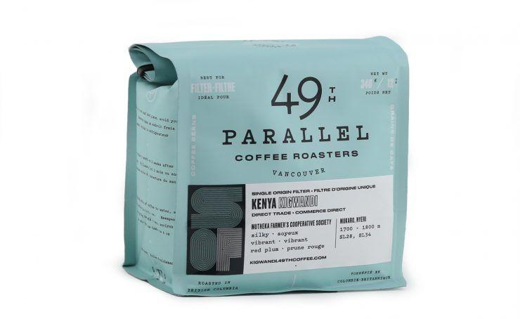 Nice Package: 49th Parallel Coffee Roasters