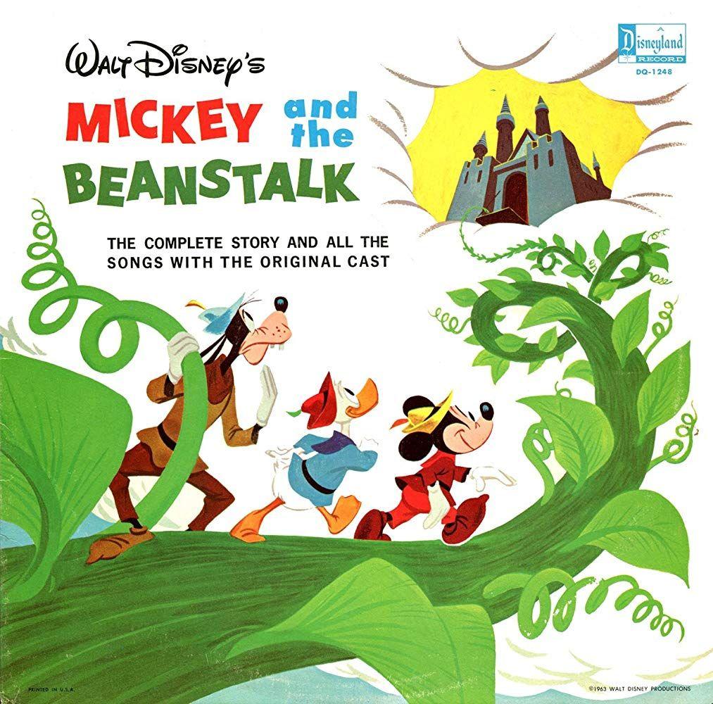 Mickey And The Beanstalk 1947 Disney Kids Walt Disney Animation Studios Disney Collectables