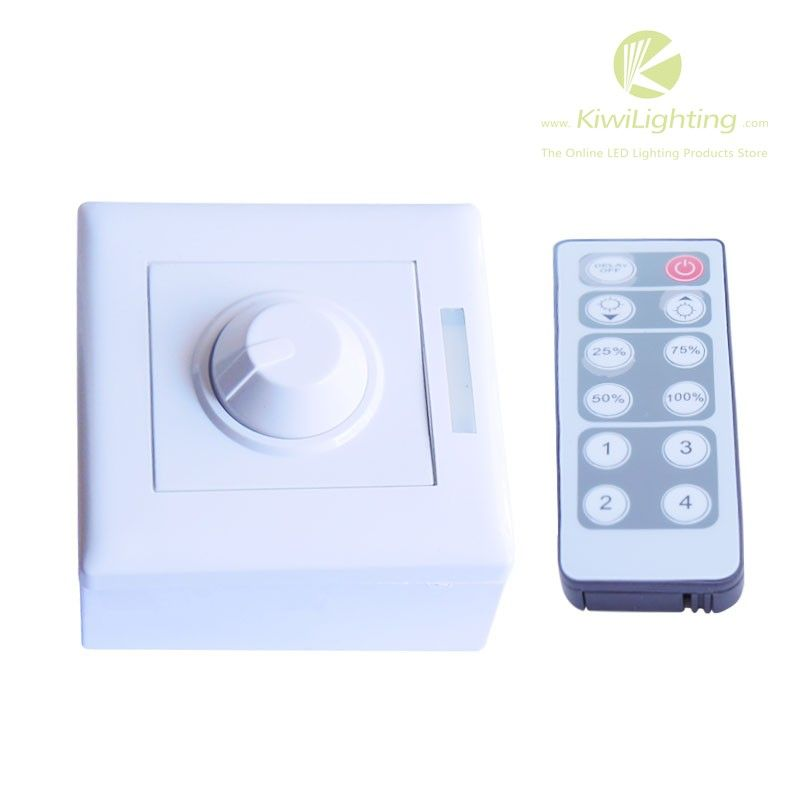 Dmx Dimmer Dc 12v 24v 8a 1 Channel For With Ir Remote Control Dmx Led Dimmer Output Dc 12v 24v 8a 1 Channel With Ir Remote C Led Dimmer Led Lights Led