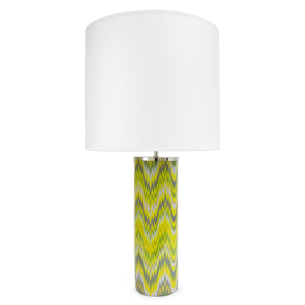 Contemporary class and colour combined in the jonathan adler carnaby contemporary class and colour combined in the jonathan adler carnaby green acid palm table lamp large 295 from amara aloadofball Images