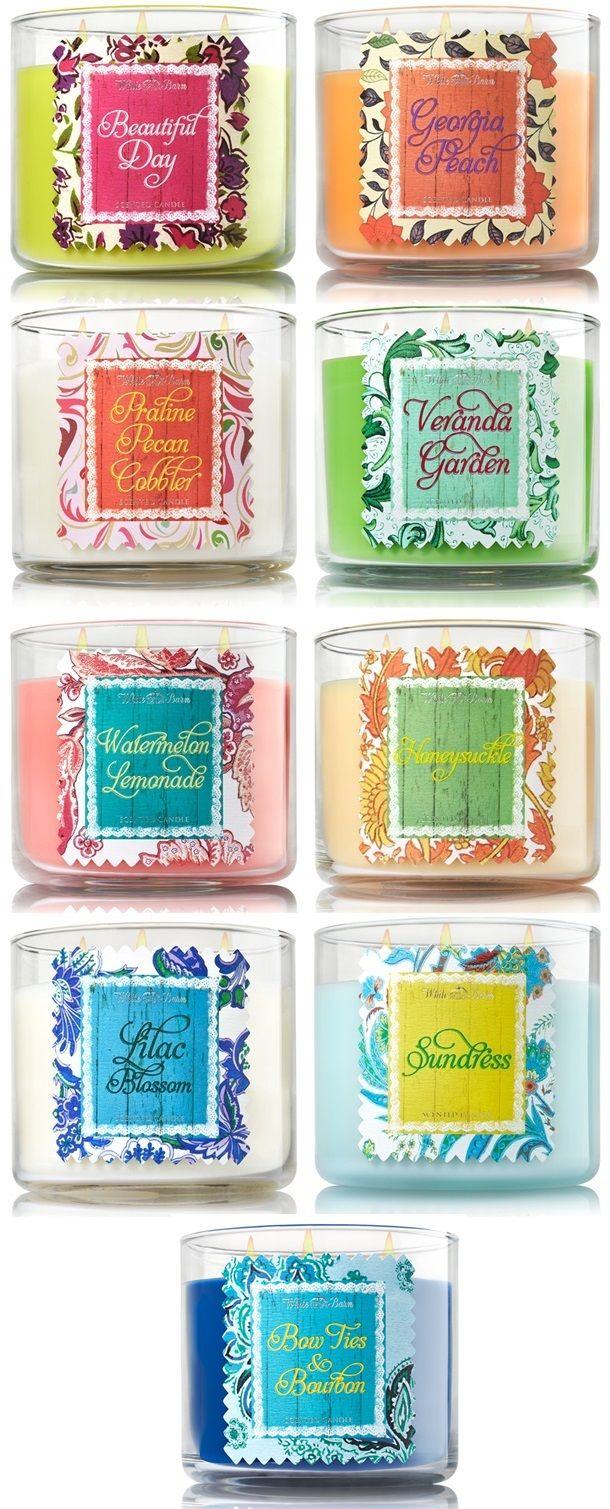 New Spring 2015 Bath Body Works Candles Bath Body Works