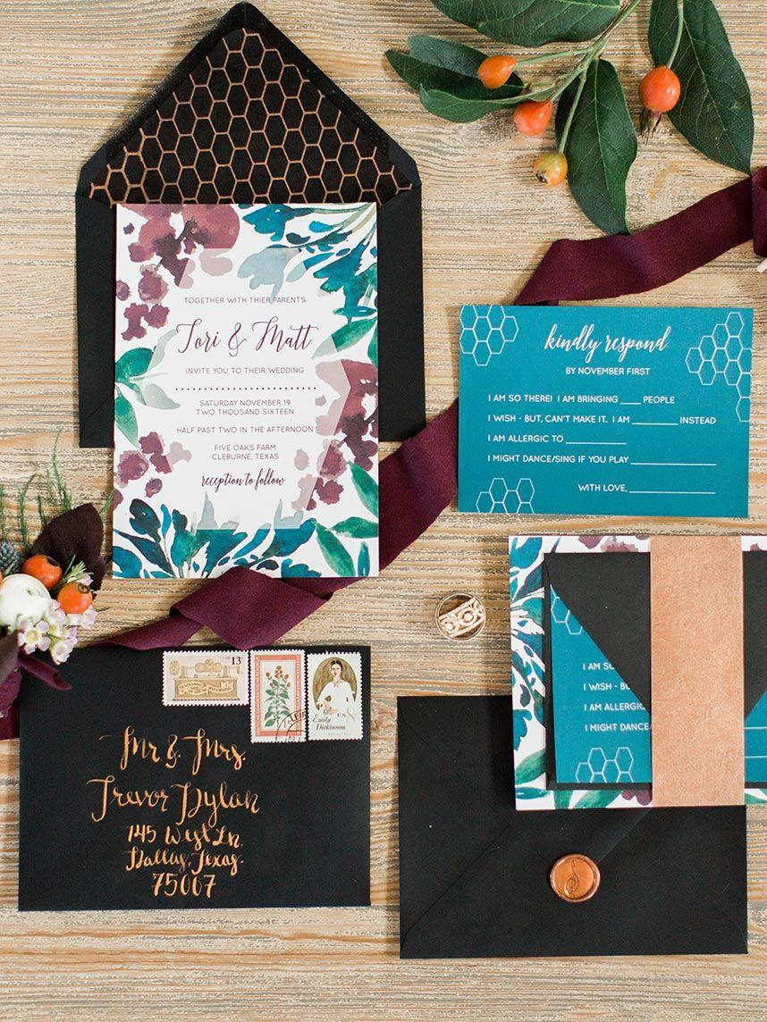 Earthy jewel tone wedding inspiration jewel tone wedding