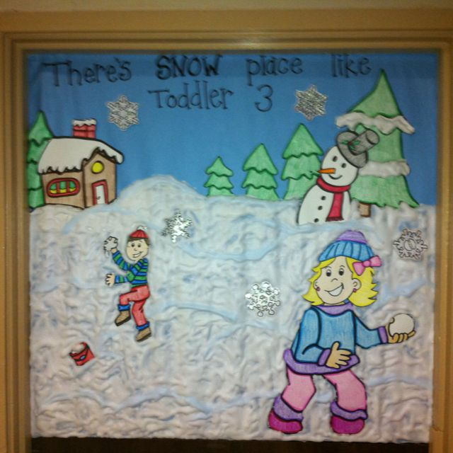 Classroom Decorating Ideas For January : January bulletin board or door teacher ideas pinterest