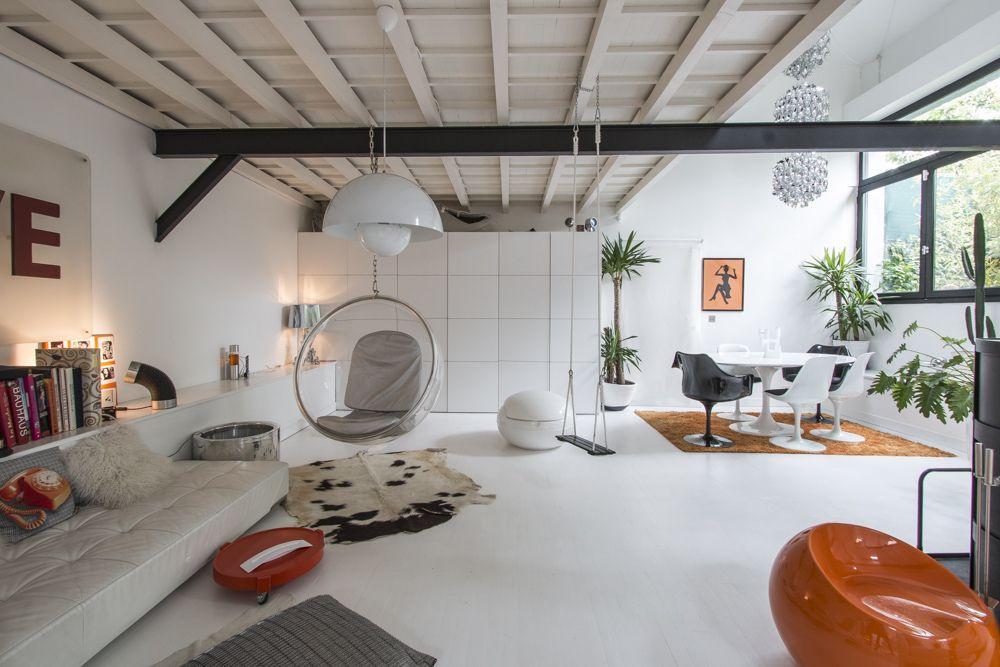Apartamento tipo loft ultra moderno ideas y planos de for Apartamentos pequenos planos
