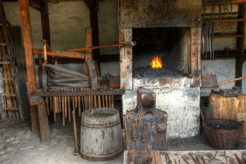 Blacksmith S Shop In Badera Site Of The Infamous Forge