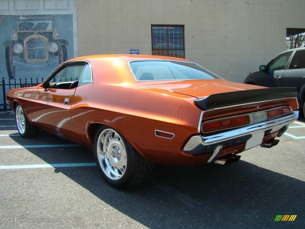 Dodge copper orange metallic
