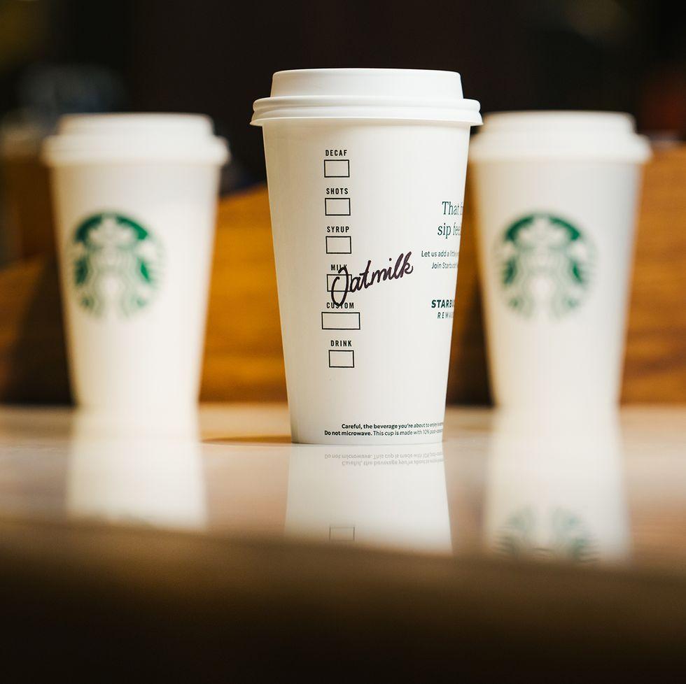 Starbucks' Oat Milk Latte Is One Of The Healthiest New