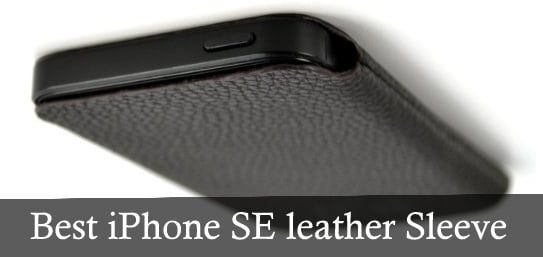 meet b3c19 4a0f4 Best iPhone SE leather Sleeve by Dockem USA | IPHONE | Best iphone ...