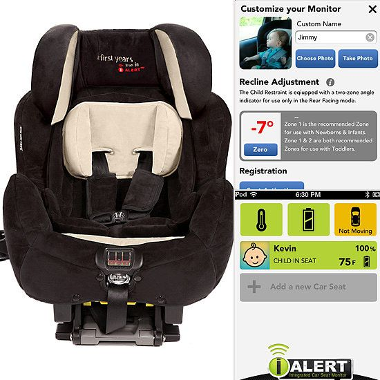 The First Years I Alert Car Seat Worlds Mobile Synced