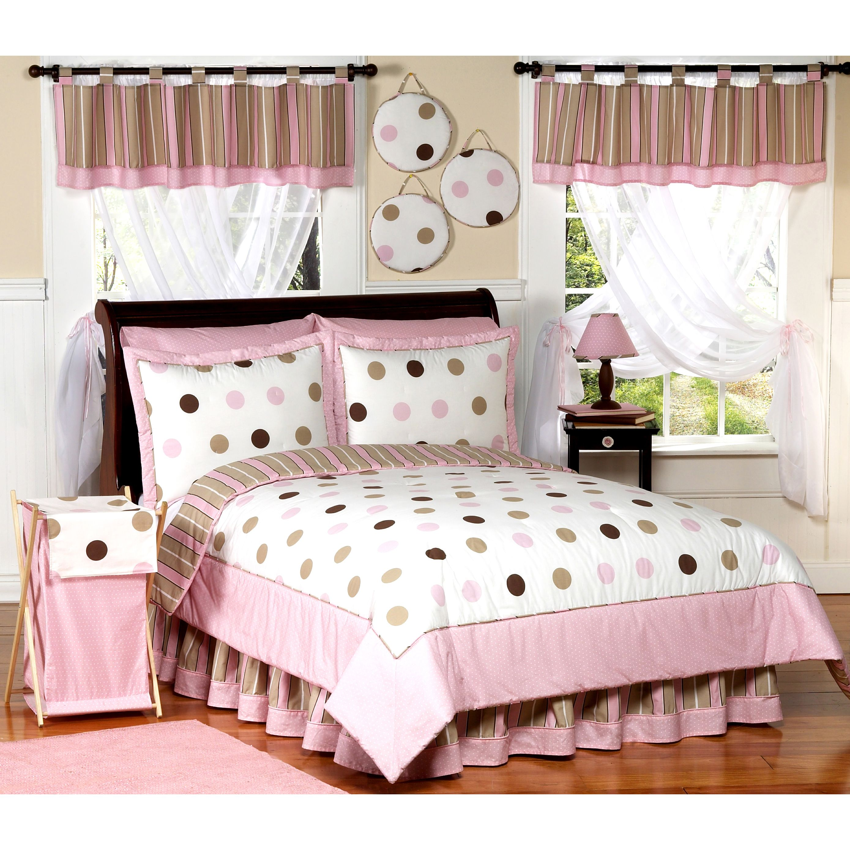 Pink And Brown Girls Room Ideas