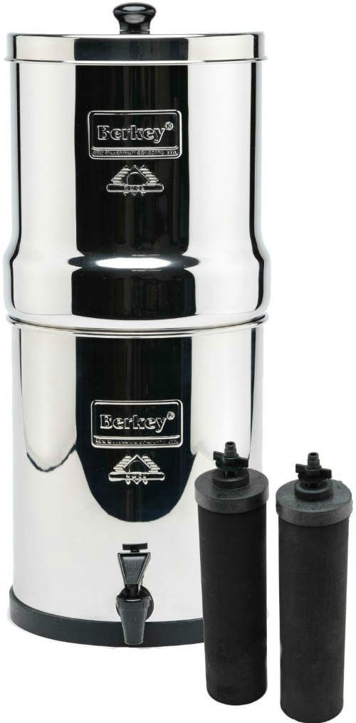 Spec: - The compact Travel Berkey system is the perfect system for small homes…