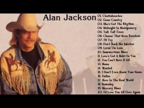 Alan Jackson The Best Country Singer Youtube Alan Jackson