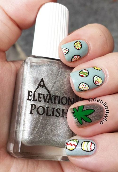 Easter Egg Nail Art Designs | Easter Egg Nail Art Designs ...