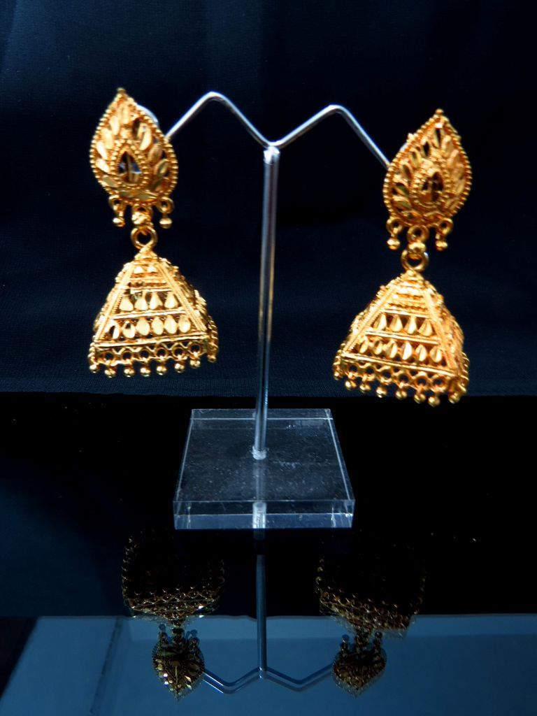 Gold Plated Indian Jewellery Online Buy Cheap Jhumkas