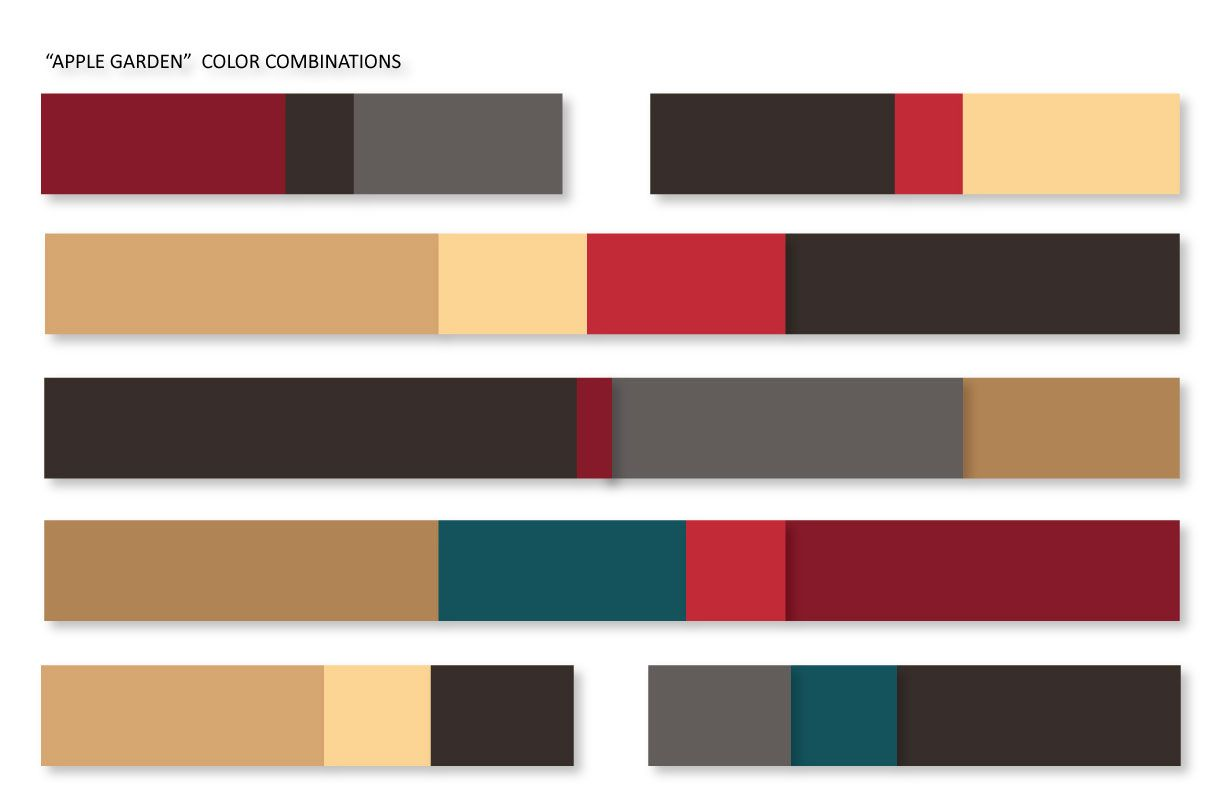 apple garden, color combinations | fashion [forecast] | pinterest