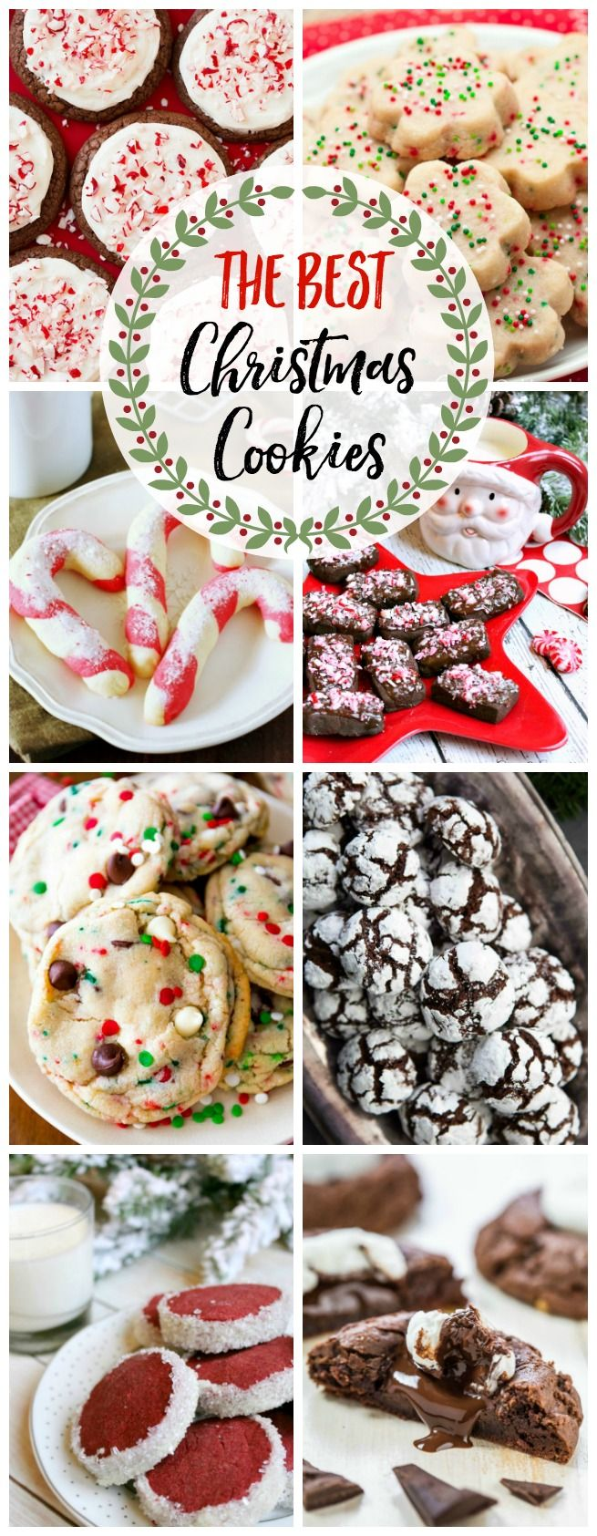 The Best Christmas Cookie Recipes {and 200+ Other Christmas Ideas!} - Clean and Scentsible