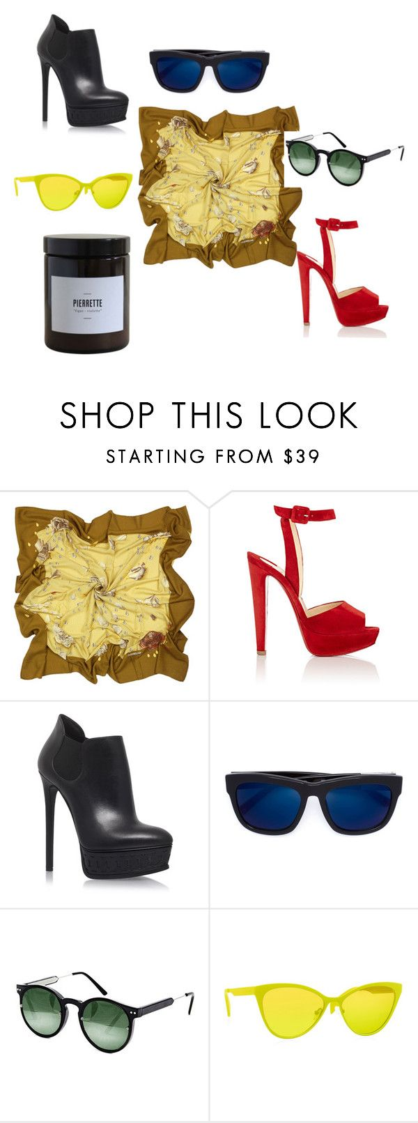 """140"" by efrat-kazoum on Polyvore featuring Hermès, Christian Louboutin, Casadei, 3.1 Phillip Lim, Spitfire, Italia Independent and Marie Jeanne"