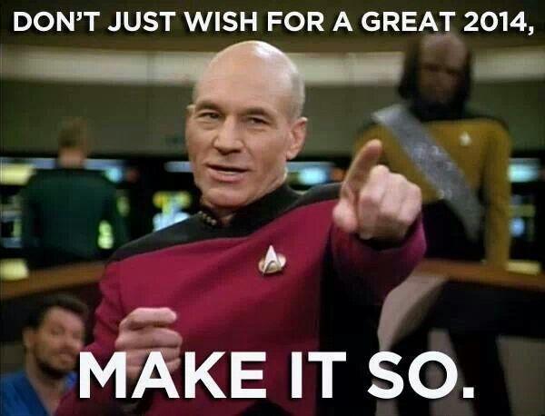 Captain Picard S First Order Of The New Year Captain Picard Star Trek Birthday Meme