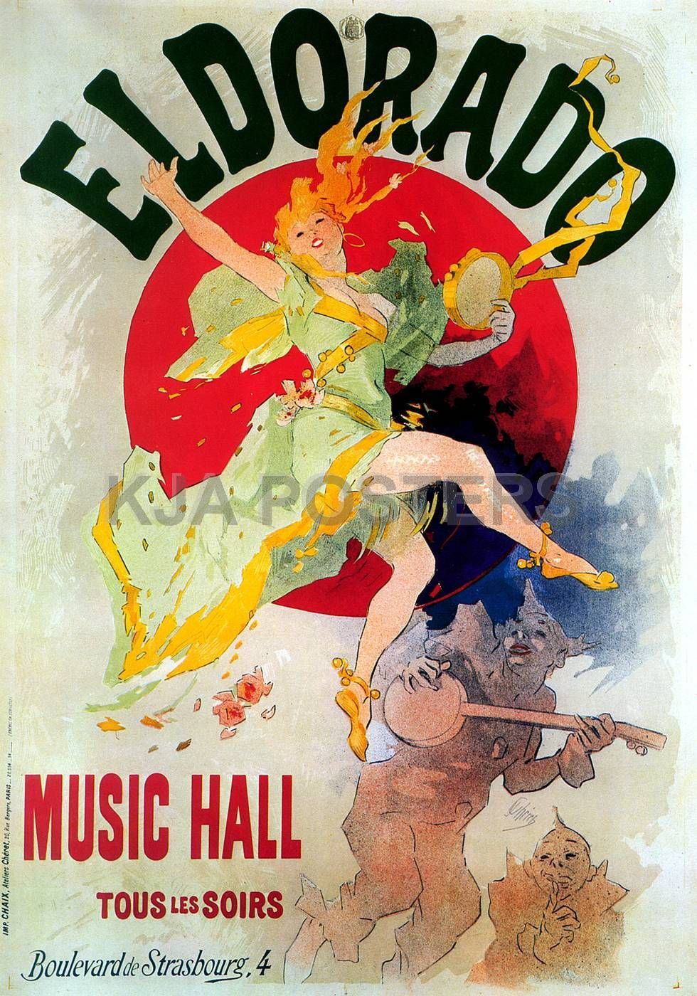 Vintage posters eldorado music hall jules cheret french vintage posters eldorado music hall jules cheret french advertising posters jules cheret french advertising posters fandeluxe Gallery