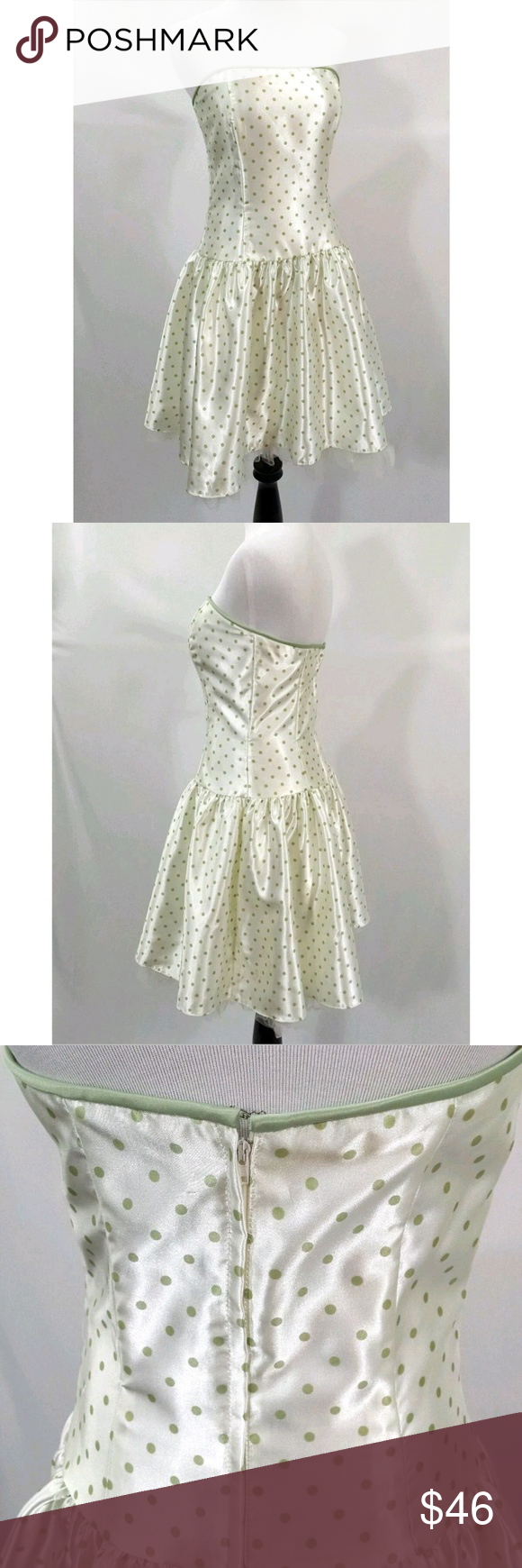 Jessica Mcclintock Gunne Sax 80s Style Prom Dress Vintage Style Prom Dresses Prom Dresses 80s Fashion [ 1740 x 580 Pixel ]