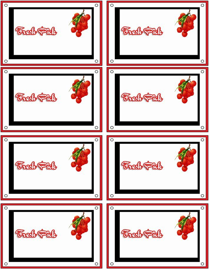 Free Printable Label Template Best Of Free Printable Food Labels Make Custom Foo Labels Printables Free Templates Printable Label Templates Food Label Template
