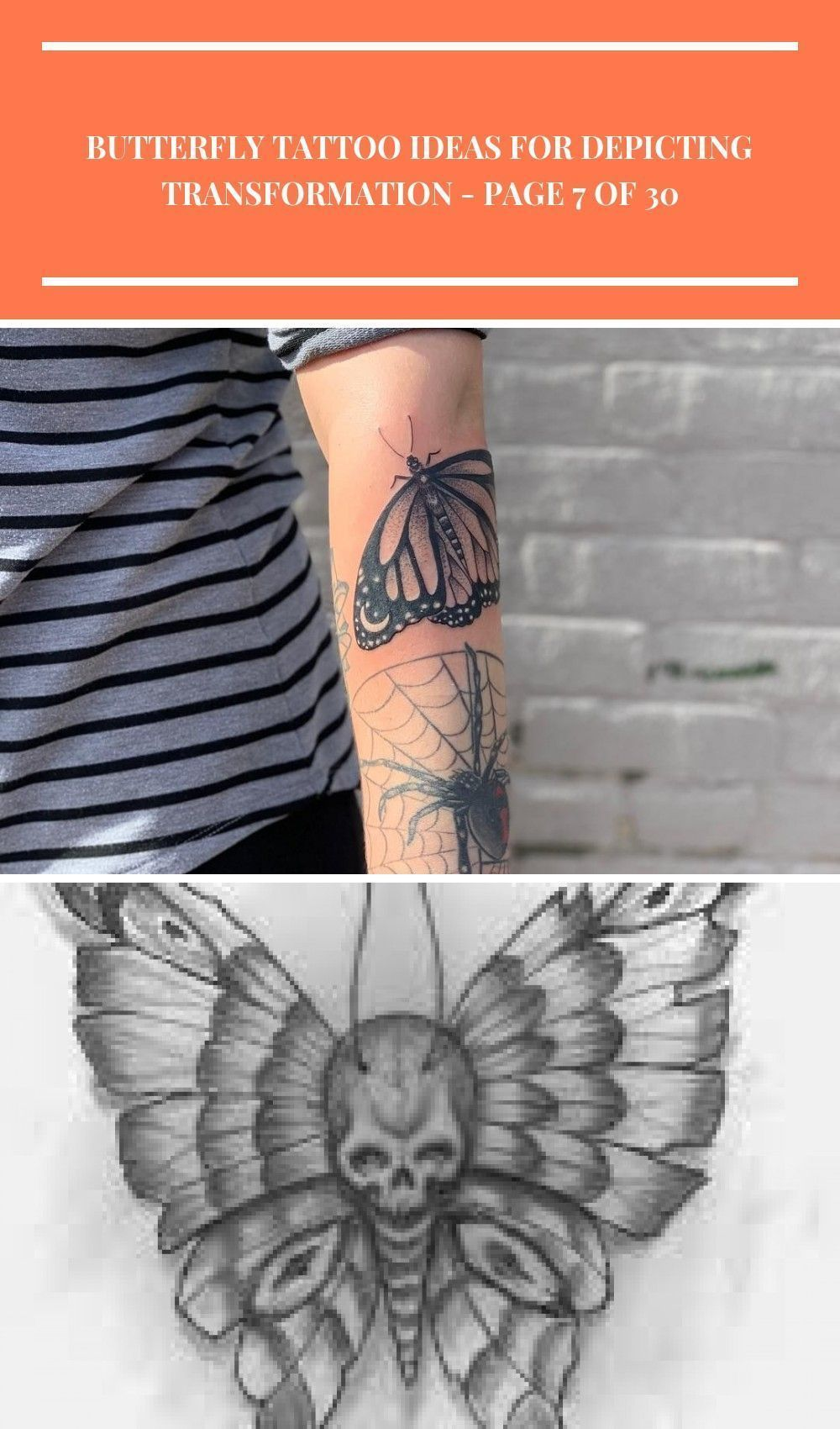 Photo of Butterfly Tattoo Ideas For Representing Transformation Tattoos, Tatt … – #Butt…