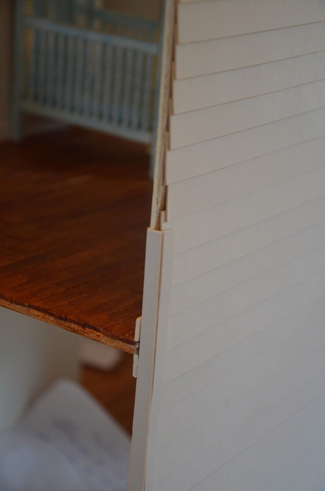 Siding Hiding The Edges Easily Dollhouse Miniatures