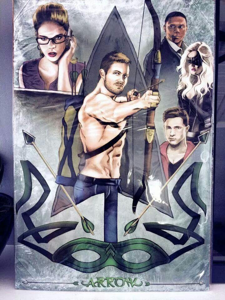 Arrow Fan Art Arrow Serie Arrow Series E Filmes E Filmes