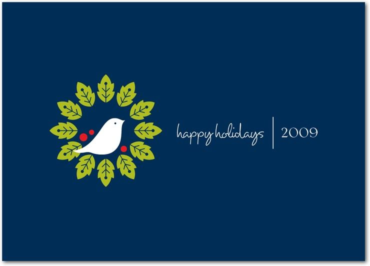 Christmas in july new business holiday cards business holiday dove wreath business holiday card colourmoves