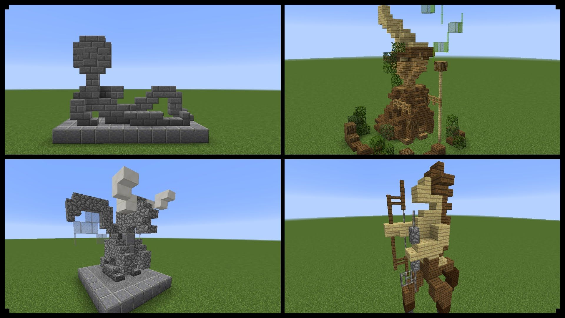 10 Minecraft Statue Designs And How To Make One Minecraft