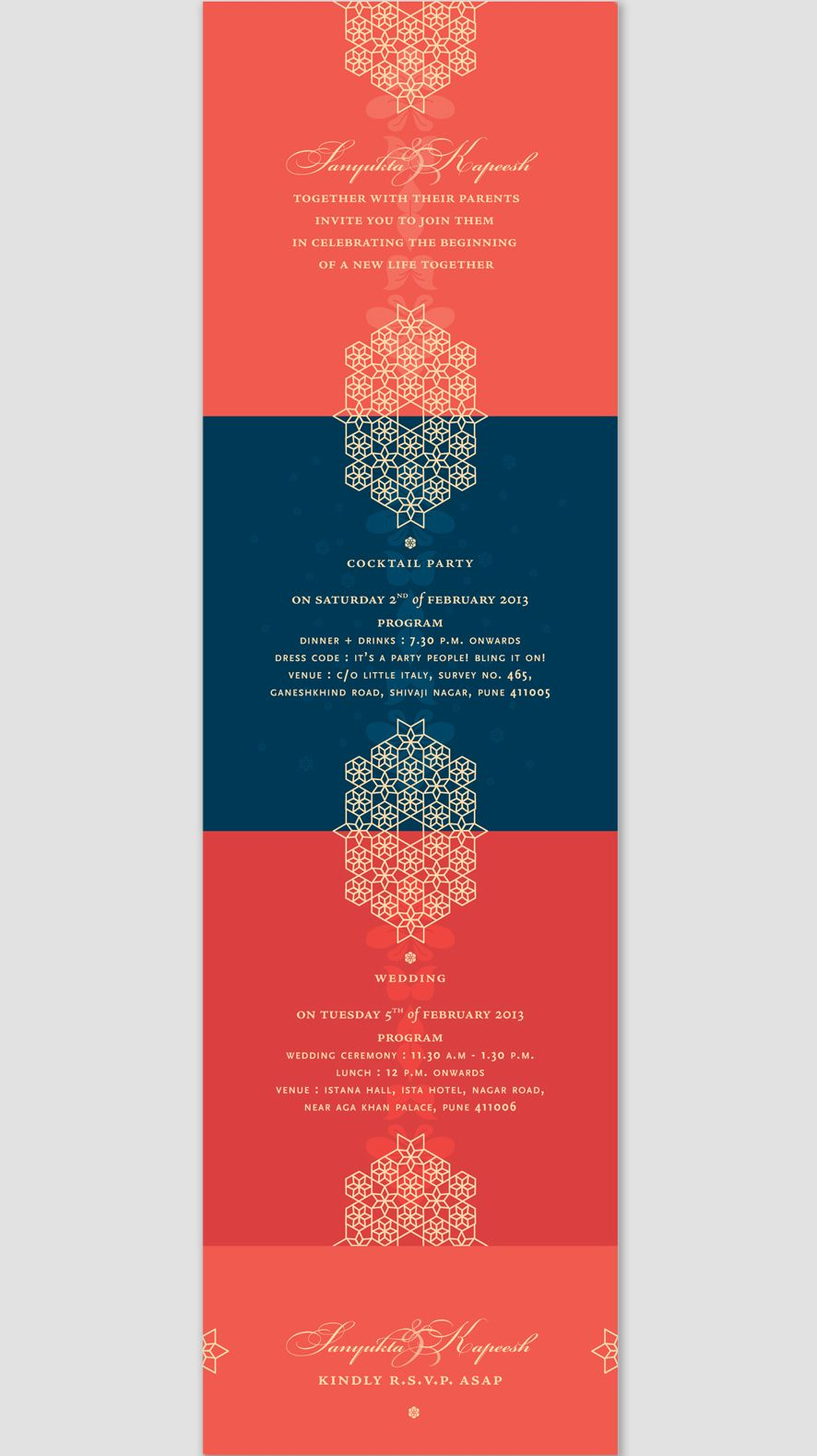 Invitation suite for my own wedding | Work and Play | Pinterest ...