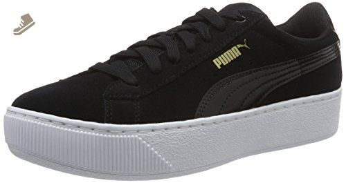 Puma Smash L Sneaker Unisex Adulto Nero Black/Dark Shadow 04 42 EU f7B