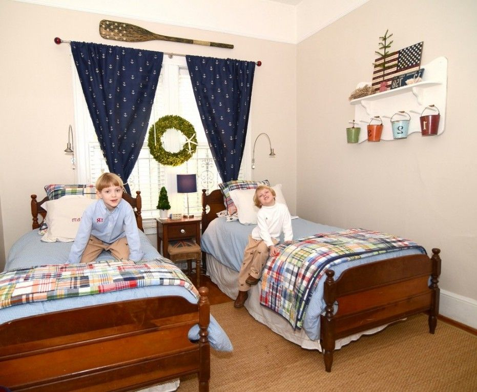 New Toddler Twin Boy Bedroom Ideas With Smart Decorating For