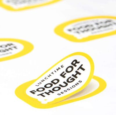 Food for Thought logo by Magpie Studios
