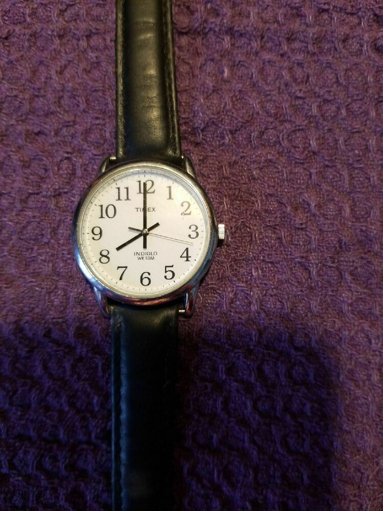Timex Indiglo Watch Big s Not Working Battery? Timex