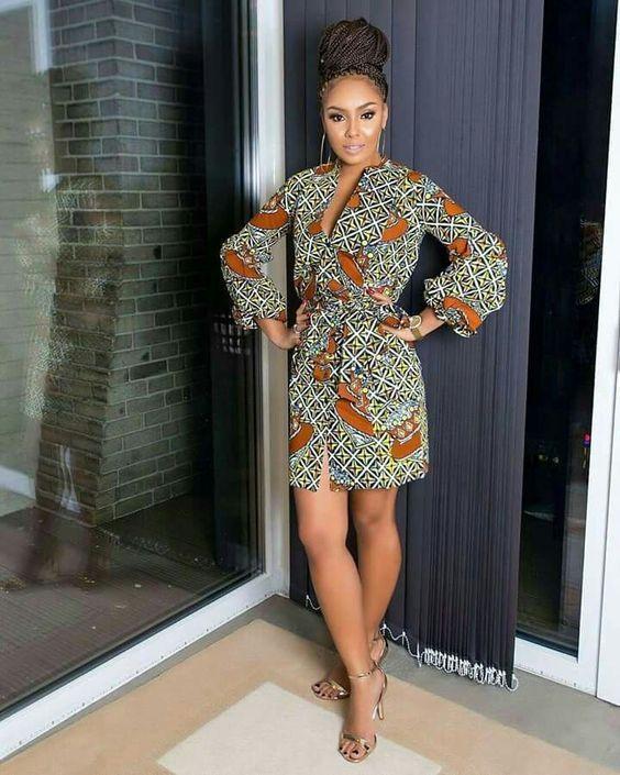 Catalogue de couture africaine chic Fashion en 2019