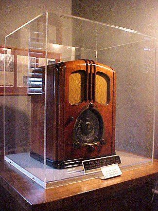 The Waltons radio, The Waltons Museum in Virginia. The