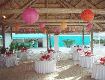 Wedding Park Shelter Decoration