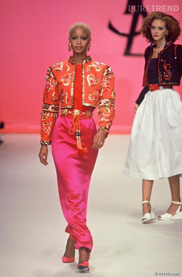 La robe flamenco Yves Saint Laurent Puretrend
