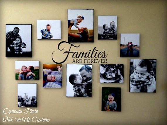 families are forever vinyl wall decal art homestickemupcustoms