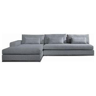 Modern Sleek K Shaped Sectional Sofa, By New York Furniture Outlets, Inc.